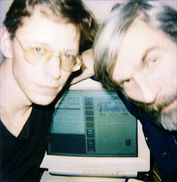 Андрей Кузин и Алнксандр Птица - 12.02.1998